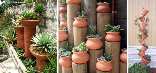 Add Some Height To Your Terracotta Landscape - Clay Pot Crafts