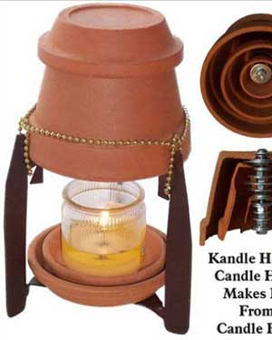 Kandle Heeter Clay Pot Heaters - Clay Pot Crafts