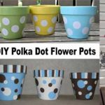 Polka Dot Flower Pots - Clay Pot Crafts