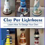 Clay Pot Lighthouse - Clay Pot Crafts