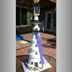 Double Balcony Clay Pot Lighthouse - Clay Pot Crafts