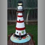Five Pot Clay Pot Lighthouse - Clay Pot Crafts