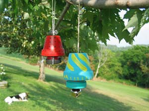 Garden Bells Clay Pot Wind Chimes - Clay Pot Crafts