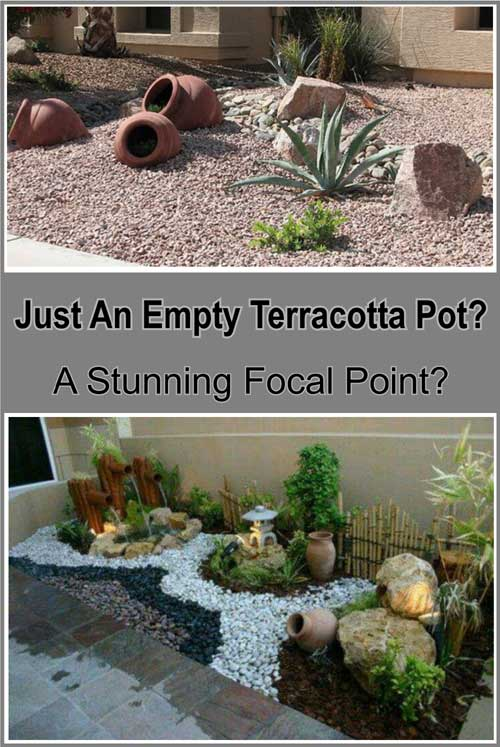 Just An Empty Terracotta Pot or Not