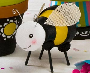 Leggy Clay Pot Bumble Bee - Clay Pot Crafts