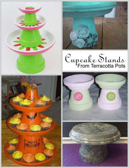 Terracotta-Cupcake-Stand-Clay-Pot-Crafts