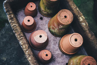 Painting Terracotta Pots - Clay Pot Crafts