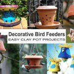 Decorative Bird Feeders - Clay Pot Crafts