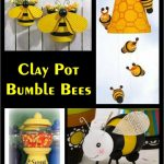 Clay Pot Bumble Bee - Clay Pot Crafts