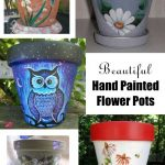 Fine Art Hand Painted Flower Pots - Clay Pot Crafts