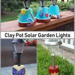 Solar Garden Lights - Clay Pot Crafts